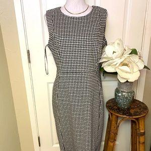 Calvin Klein Black / White Dress